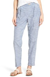 Obey Women's Sanders Stripe Cotton Pants