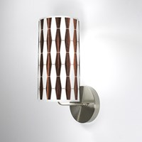Jefdesigns Weave 1 Wall Sconce Jd_Weave1_Ebony_Soma Ebony Brown
