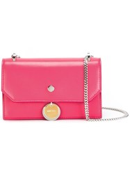 Jimmy Choo Finley Crossbody Strap Pink Purple