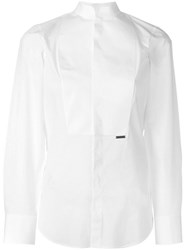 Dsquared2 'China Tux' Shirt White