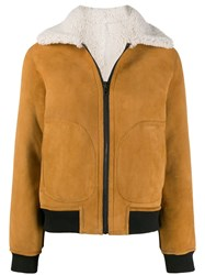 Zadig And Voltaire Lotta Shearling Coat 60