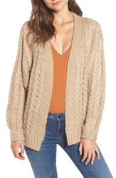 Blank Nyc Blanknyc Cable Knit Cardigan