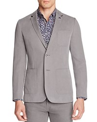 Ted Baker Onetwos Regular Fit Sport Coat Gray