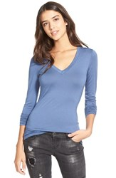 Junior Women's Soprano Long Sleeve V Neck Tee Polaris