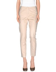 Irma Bignami Trousers Casual Trousers Women Beige