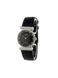 Longines 'Damenuhr' Analog Watch Black