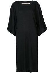 Raquel Allegra Kimono Dress Women Cotton Polyester 1 Black