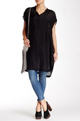 Biya Quinn Silk Tunic Black