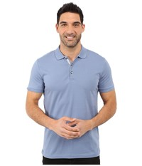 James Campbell Laguna Polo Denim Men's Short Sleeve Knit Blue