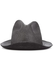 Reinhard Plank 'Laila' Distressed Hat Black
