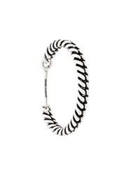 Isabel Marant Woven Style Chain Cuff Silver