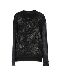 Just Cavalli Sweatshirts Black
