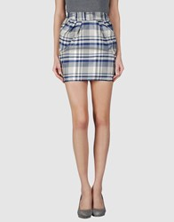 Paul And Joe Sister Skirts Mini Skirts Women Blue
