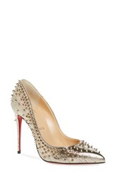 Christian Louboutin Women's Escarpic Spike Pump