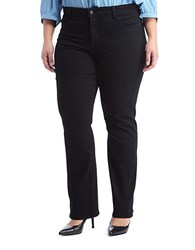 Nydj Plus Barbara Bootcut Jeans Black