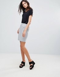 B.Young Midi Skirt Light Grey Mal