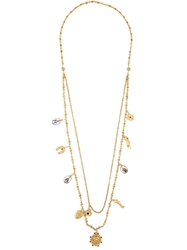 Dolce And Gabbana Long Charm Necklace