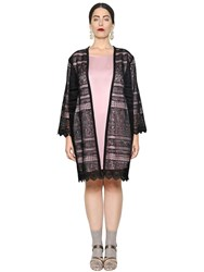 Marina Rinaldi Macrame Lace Long Jacket