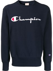 Champion Logo Embroidery Sweatshirt 60
