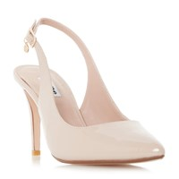 Dune Cathy Slingback Court Shoes Cream