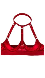 Kisskill Addict Bra In Red.