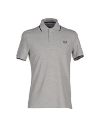Ice Iceberg Topwear Polo Shirts Men Grey