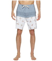 Vans Trouble In Paradise Boardshorts 19 White Men's Swimwear