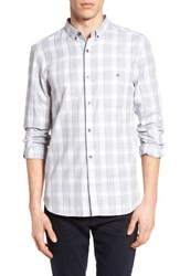 French Connection Men's Lifeline Check Sport Shirt