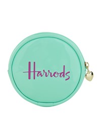 Harrods Patent Coin Purse Unisex