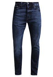 Pier One Jeans Tapered Fit Dark Blue Dark Blue Denim