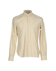 Tonello Shirts Shirts Men Beige