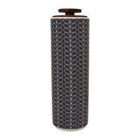 Orla Kiely Linear Stem Spaghetti Jar Dark Grey