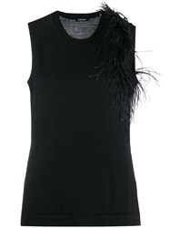 P.A.R.O.S.H. Sleeveless Embroidered Sweater 60