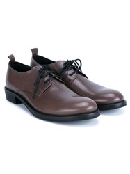 Ann Demeulemeester Classic Derby Shoes Grey