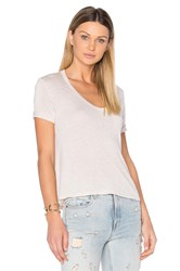 Alexander Wang Crop Pocket Tee Pink