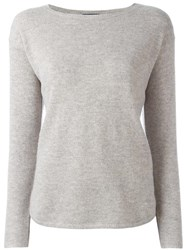 Polo Ralph Lauren Round Neck Jumper Grey