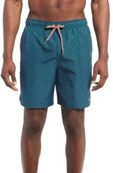 Nike Men's Core Emboss Swim Trunks Legion Blue