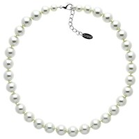 Finesse Faux Pearl Necklace Nacre