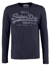 Superdry Long Sleeved Top Eclipse Navy Blue