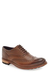Ted Baker Men's London 'Guri 8' Wingtip Tan