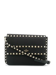 Valentino Garavani Rockstud Shoulder Bag Black