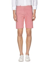 Perfection Trousers Bermuda Shorts Men Red