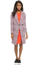 Milly Couture Tweed Cleo Coat Multi