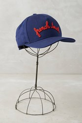Anthropologie French Touch Baseball Cap Blue