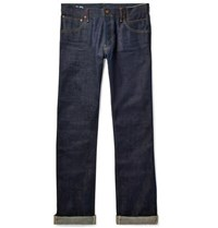 Visvim Social Sculpture 01 Slim Fit Raw Selvedge Denim Jeans Indigo
