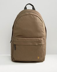 Farah Canvas Backpack Khaki Green