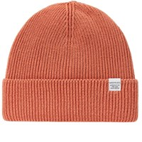 Norse Projects Cotton Watch Beanie Orange