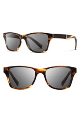 Shwood 'Canby' 53Mm Sunglasses Tortoise Ebony Grey