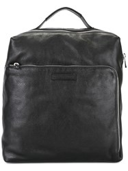 Emporio Armani Large Backpack Black