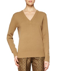 Michael Kors Cashmere V Neck Sweater